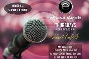 Karaoke Nights at Velvet Cafe