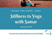 Stillness to Yoga with Samar