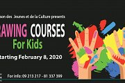 Drawing For Kids at Maison des Jeunes et de la Culture