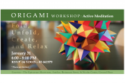 Origami Workshop: Active Meditation