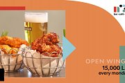 All you can eat Chicken Wings at 15,000 LL - Every Monday