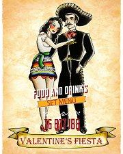 Valentine Fiesta at Maracas Tequila Bar