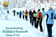 Snowsoeing in Jabal El Kneisseh with Hike Aventura