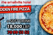 Pizza Is Always The Answer At The Smallville Hotel!
