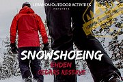 Snowshoeing In Ehden Cedars Reserve With LOA