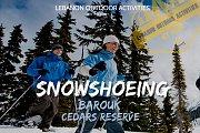 *Snowshoeing in Barouk Cedars Reserve with Lebanon Outdoor Activities*