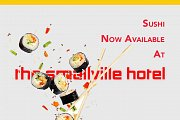 Sushi at the Smallville Hotel