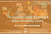 The Complete Digital Marketing & Online Advertising Course - An online workshop by I Have Learned Academy