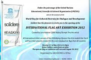 International Flag Art Exhibition 2012