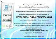 International Flag Art Exhibition 2012