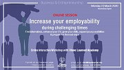 Increase your Employability during challenging times - Online Workshop at I Have Learned Academy
