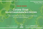 Corona Virus Understand & Prevent it for Kids & Adults -  Free Online Interactive Session by I Have Learned Academy