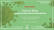 Corona Virus Awareness with the Red Cross - Free Online Session