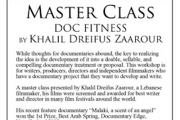 DOC FITNESS, a masterclass organized by Cabriolet Film Festival and Docudays