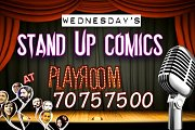 Stand Up Comics at PlayRoom every Wednesday