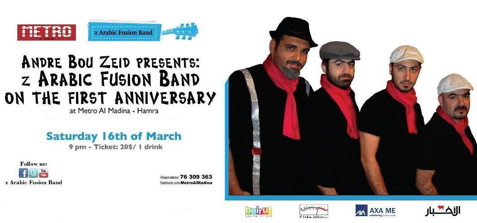 z Arabic fusion band on the 1st anniversary « Lebtivity