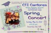 CTI Canteros spring concert