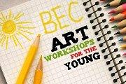 Kids art workshops at the Beirut Exhibition Center