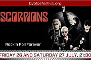Scorpions Concert in Lebanon - Part of Byblos International Festival 2013