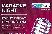 Karaoke Night at Peaks Resort - Feytroun
