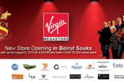 Virgin Megastore Opening at Beirut Souks