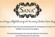 Sanaa Ayoub Fashion Exhibition