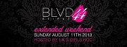 Extended Weekend hosted by Girls Roc at BLVD 44