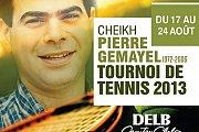 Cheikh Pierre Gemayel Tournoi  de Tennis 2013