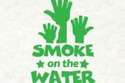 SMOKE ON THE WATER! An outdoor barbecue by Rock, Stock and two smoking buds!