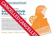 Marianne Faithfull in Concert – Part of Baalbeck International Festival 2013