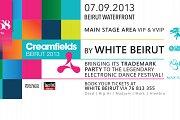 WHITE at Creamfields Beirut 2013