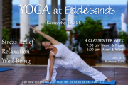 Yoga sessions with Samantha Howick @ Edde Sands