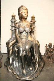 Auto-Orientalism Sculptures by Tarik Sadouma