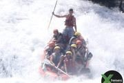 Rafting at Naher El-Assi with Xtremers