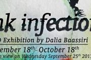 Ink Infection - Art Exhibition by Dalia Baassiri