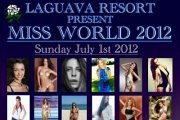 MISS WORLD 2012 beach party