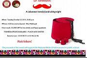 Le Tarboush! Trendy fundraising night