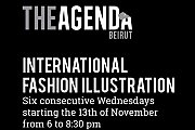 International Fashion Illustration - The Agenda Beirut