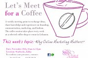 """Weekly Meeting: """"Why Online Marketing Matters?"""""""