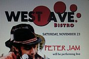 PETER JAM live @ West Ave. Bistro