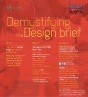 Demystifying the Design Brief