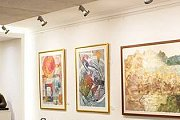 """Collective Exhibition of 34 Artists at Hamazkayin """"Lucy Tutunjian"""" Art Gallery"""