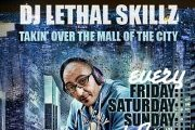 "Skullcandy & DJ Lethal Skillz ""The City Mall Take Over"""
