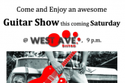 Guitar Show @ West Ave. Bistro