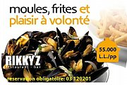 Moules & Frites at Rikky'z