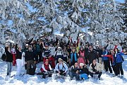 Arz Bcharreh Snowshoeing with Vamos Todos