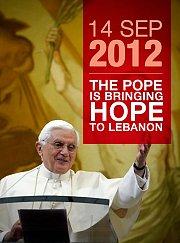 Pope Benedict XVI visit to Lebanon - La visite du pape Benoit XVI au Liban
