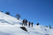 Snowshoeing Laklouk with Byblos & Beyond