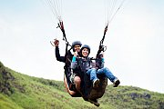 Paragliding Tandem Flight & Paragliding Course with Purple Pineapple Pot