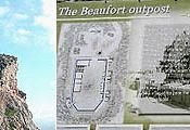 Arnoon Beaufort Castle with Baldati